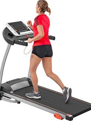 Folding Treadmill Jogging & Walking Machine with Device Holder
