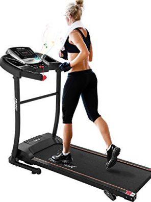 Merax Electric Folding Treadmill – Easy Assembly Fitness