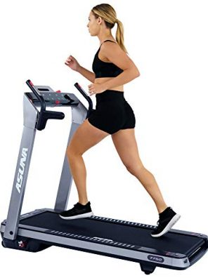 Sunny Health, Fitness ASUNA SpaceFlex Electric Running Treadmill