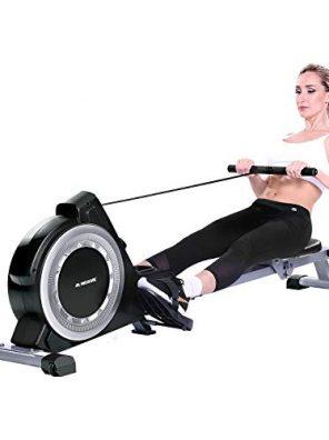 MaxKare Magnetic Rowing Machine Folding Exercise