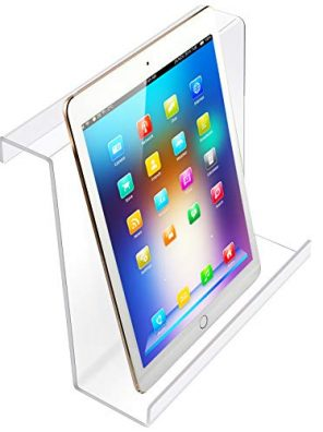 Treadmill Book Holder Clear Acrylic Compatible with Ipad