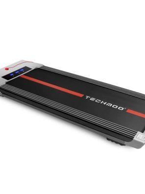 TECHMOO Ultra Thin Treadmill 2 in 1 Smart Treadmill