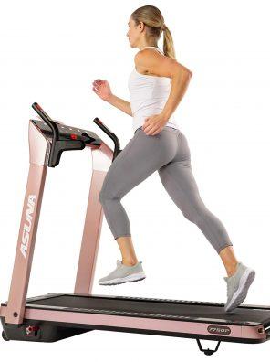 Sunny Health, Fitness Asuna SpaceFlex Electric Treadmill